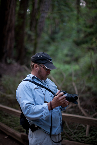 Barry at Muir Woods